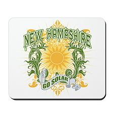 Go Solar New Hampshire Mousepad