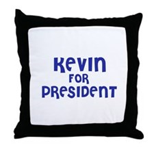 Kevin for President Throw Pillow