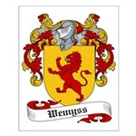 Wemyss Family Crest Small Poster
