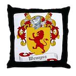 Wemyss Family Crest Throw Pillow