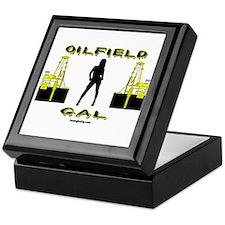 Oilfield Gal Keepsake Box