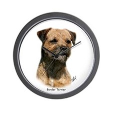 Border Terrier 9Y325D-046 Wall Clock