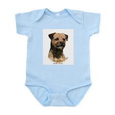 Border Terrier 9Y325D-046 Infant Bodysuit