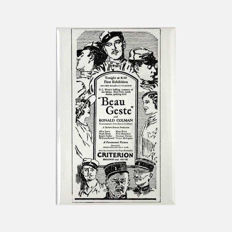 Ronald Colman Beau Geste 1926 Rectangle Magnet