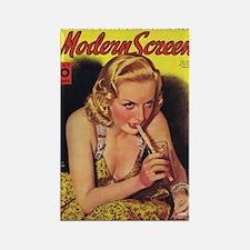 Carole Lombard 1938 Rectangle Magnet