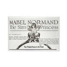 Mabel Normand Slim Princess 1920 Rectangle Magnet