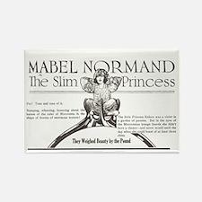 Mabel Normand Slim Princess 1920 Rectangle Magnet