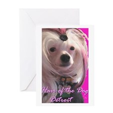 Hair of the Dog Detroit Greeting Card