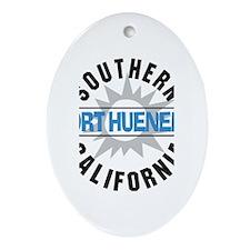 Port Hueneme California Oval Ornament