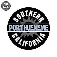"Port Hueneme California 3.5"" Button (10 pack)"