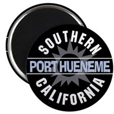 "Port Hueneme California 2.25"" Magnet (10 pack)"