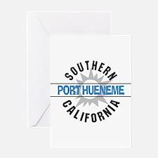 Port Hueneme California Greeting Card