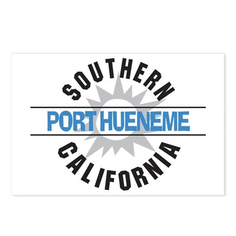 Port Hueneme California Postcards (Package of 8)