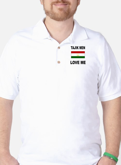 Tajik Men Love Me Golf Shirt