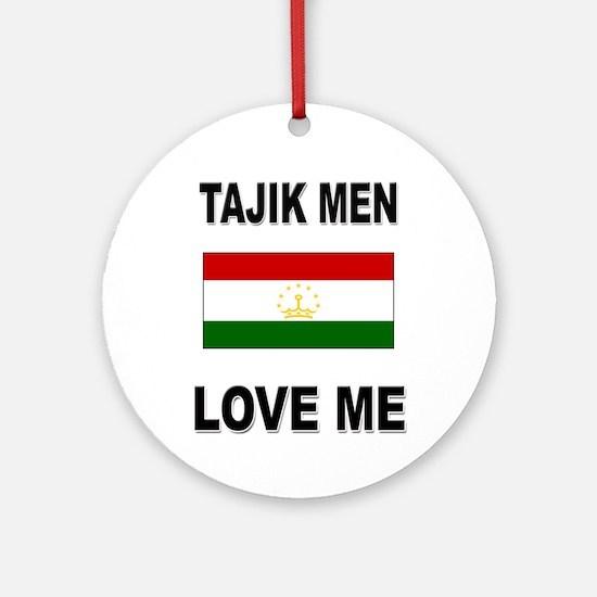 Tajik Men Love Me Ornament (Round)