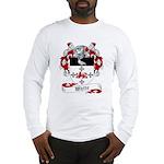 White Family Crest Long Sleeve T-Shirt