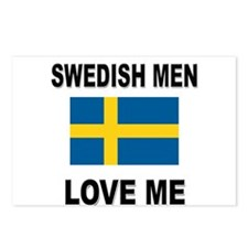 Swedish Men Love Me Postcards (Package of 8)
