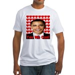 Obama Yes We Can Fitted T-Shirt