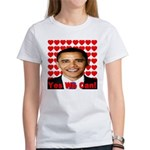Obama Yes We Can Women's T-Shirt