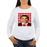 Obama Yes We Can Women's Long Sleeve T-Shirt