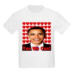 Obama Yes We Can Kids Light T-Shirt