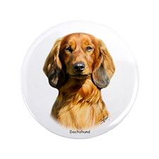 """Dachshund 9R088D-077 3.5"""" Button"""