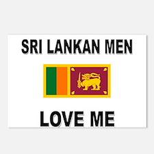 Sri Lankan Men Love Me Postcards (Package of 8)