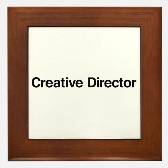 Creative Director Framed Tile