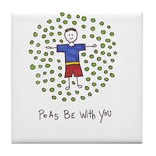 Unique Positive message Tile Coaster