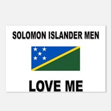 Solomon Islander Men Love Me Postcards (Package of