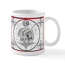 TV Test Pattern Indian Chief Mug