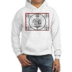 TV Test Pattern Indian Chief Hooded Sweatshirt
