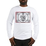 TV Test Pattern Indian Chief Long Sleeve T-Shirt