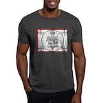 TV Test Pattern Indian Chief Dark T-Shirt