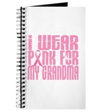 I Wear Pink For My Grandma 16 Journal