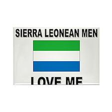Sierra Leonean Men Love Me Rectangle Magnet