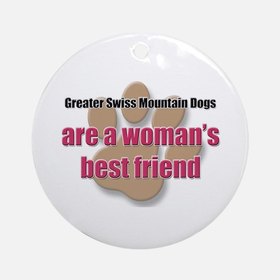 Greater Swiss Mountain Dogs woman's best friend Or