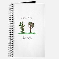 Funny Make art not war Journal