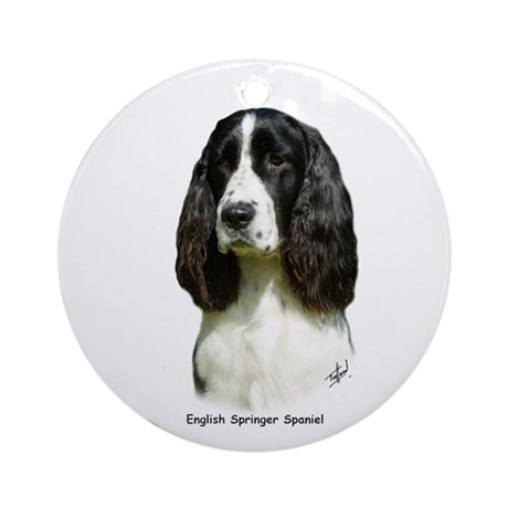 English Springer Spaniel 9J37D-20 Ornament (Round)