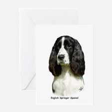 English Springer Spaniel 9J37D-20 Greeting Card
