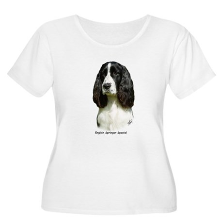 English Springer Spaniel 9J37D-20 Women's Plus Siz