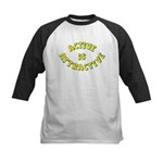 Active Is Attractive Kids Baseball Jersey