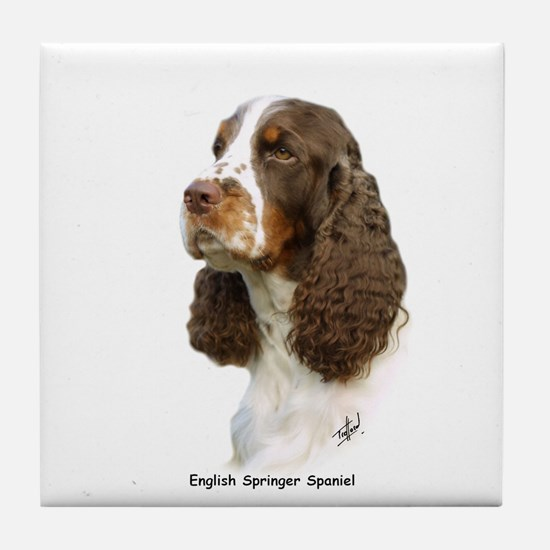 English Springer Spaniel 8M15D-05 Tile Coaster