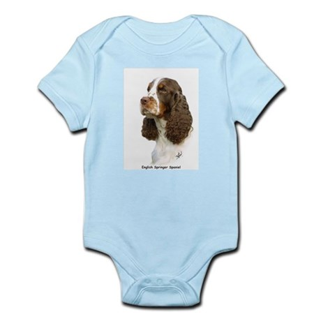 English Springer Spaniel 8M15D-05 Infant Bodysuit