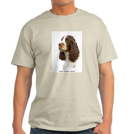 English Springer Spaniel 8M15D-05 Light T-Shirt