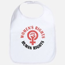 Womens March Baby Bib