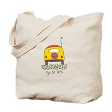 Funny Positive message Tote Bag