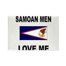 Samoan Men Love Me Rectangle Magnet
