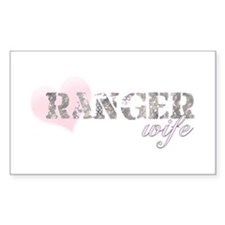 Ranger Wife Rectangle Decal