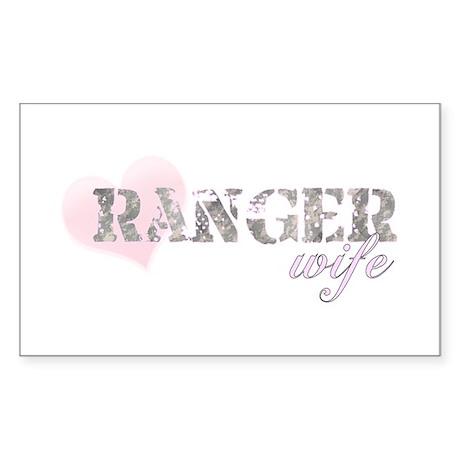 Ranger Wife Rectangle Sticker